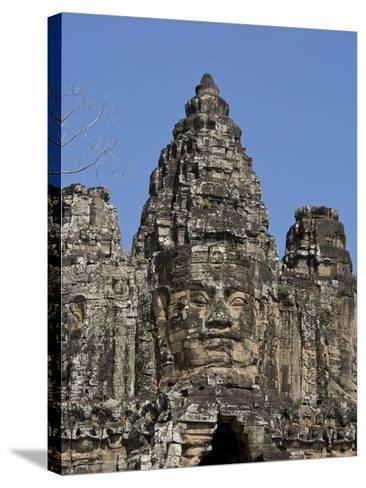 Angkor Wat Archaeological Park, Siem Reap, Cambodia, Indochina, Southeast Asia-Julio Etchart-Stretched Canvas Print