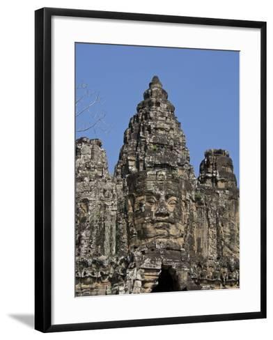 Angkor Wat Archaeological Park, Siem Reap, Cambodia, Indochina, Southeast Asia-Julio Etchart-Framed Art Print
