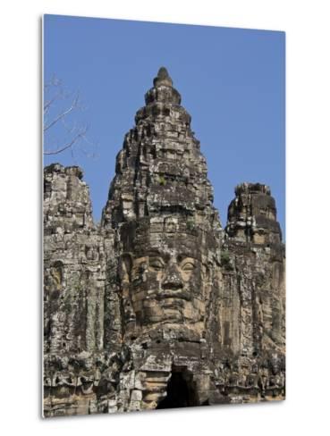 Angkor Wat Archaeological Park, Siem Reap, Cambodia, Indochina, Southeast Asia-Julio Etchart-Metal Print