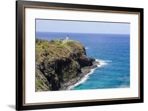 Historic Kilauea Lighthouse on Kilauea Point National Wildlife Refuge-Michael DeFreitas-Framed Art Print