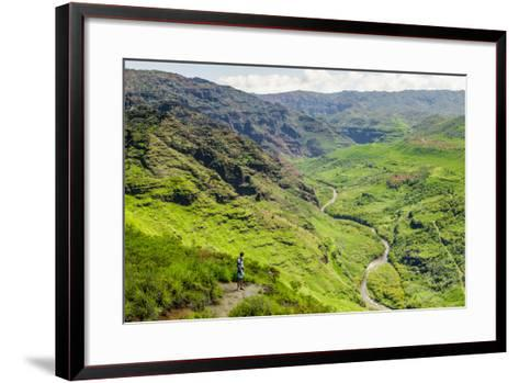 Waimea Canyon State Park, Kauai, Hawaii, United States of America, Pacific-Michael DeFreitas-Framed Art Print