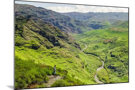 Waimea Canyon State Park, Kauai, Hawaii, United States of America, Pacific-Michael DeFreitas-Mounted Photographic Print