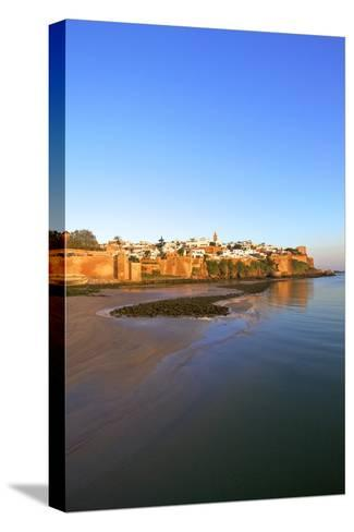 Oudaia Kasbah and Coastline, Rabat, Morocco, North Africa, Africa-Neil Farrin-Stretched Canvas Print