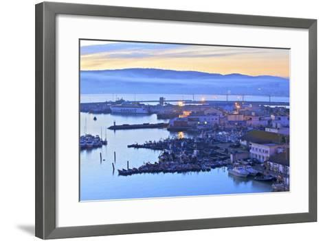 The Harbour at Dawn, Tangier, Morocco, North Africa, Africa-Neil Farrin-Framed Art Print