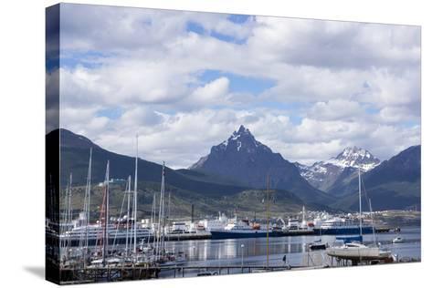 Harbour, Ushuaia, Tierra Del Fuego, Argentina-Peter Groenendijk-Stretched Canvas Print