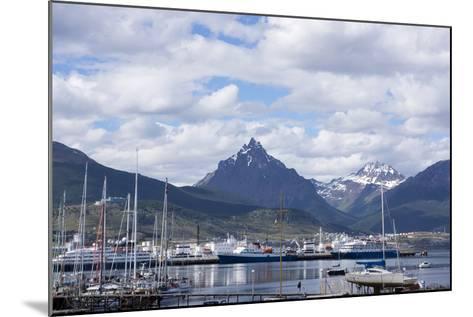Harbour, Ushuaia, Tierra Del Fuego, Argentina-Peter Groenendijk-Mounted Photographic Print