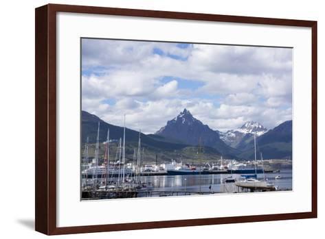Harbour, Ushuaia, Tierra Del Fuego, Argentina-Peter Groenendijk-Framed Art Print