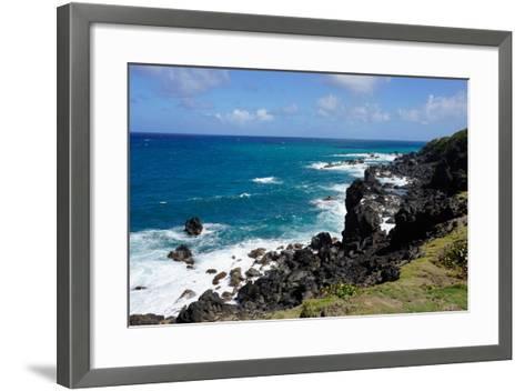 Atlantic Coast, St. Kitts, St. Kitts and Nevis-Robert Harding-Framed Art Print