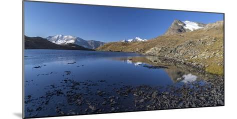 Panorama of Levanne Mountains and Aiguille Rousse at Sunrise-Roberto Moiola-Mounted Photographic Print