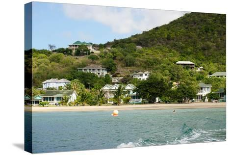 Oualie Beach Hotel, Nevis, St. Kitts and Nevis-Robert Harding-Stretched Canvas Print