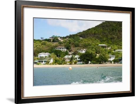 Oualie Beach Hotel, Nevis, St. Kitts and Nevis-Robert Harding-Framed Art Print