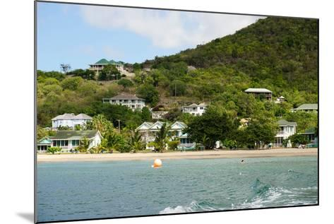 Oualie Beach Hotel, Nevis, St. Kitts and Nevis-Robert Harding-Mounted Photographic Print