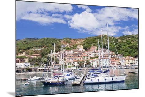 Harbour, Rio Marina, Island of Elba, Livorno Province, Tuscany, Italy, Mediterranean-Markus Lange-Mounted Photographic Print