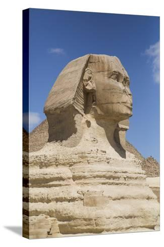 Sphinx, the Giza Pyramids, Giza, Egypt, North Africa, Africa-Richard Maschmeyer-Stretched Canvas Print