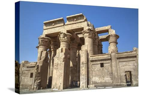 Temple of Haroeris and Sobek, Kom Ombo, Egypt, North Africa, Africa-Richard Maschmeyer-Stretched Canvas Print