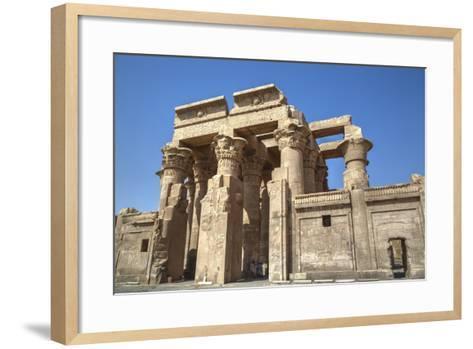 Temple of Haroeris and Sobek, Kom Ombo, Egypt, North Africa, Africa-Richard Maschmeyer-Framed Art Print
