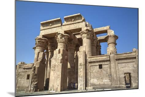 Temple of Haroeris and Sobek, Kom Ombo, Egypt, North Africa, Africa-Richard Maschmeyer-Mounted Photographic Print