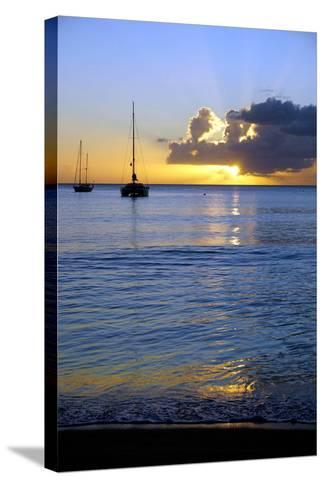 Sunset, St. Kitts and Nevis, Leeward Islands, West Indies, Caribbean, Central America-Robert Harding-Stretched Canvas Print