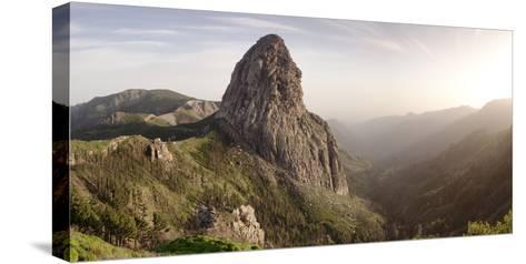 Roque De Agando, Mirador De Roques, Degollada De Agando, La Gomera, Canary Islands, Spain, Europe-Markus Lange-Stretched Canvas Print
