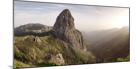 Roque De Agando, Mirador De Roques, Degollada De Agando, La Gomera, Canary Islands, Spain, Europe-Markus Lange-Mounted Photographic Print