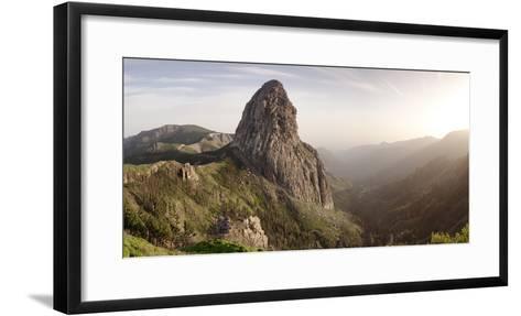 Roque De Agando, Mirador De Roques, Degollada De Agando, La Gomera, Canary Islands, Spain, Europe-Markus Lange-Framed Art Print