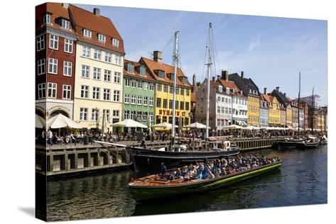 Nyhavn, Copenhagen, Denmark, Scandinavia, Europe-Yadid Levy-Stretched Canvas Print
