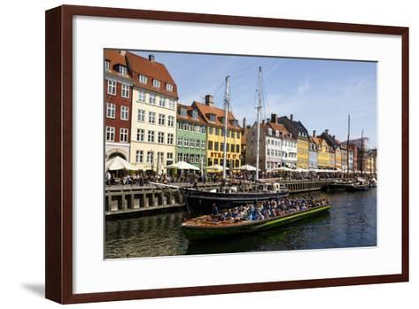 Nyhavn, Copenhagen, Denmark, Scandinavia, Europe-Yadid Levy-Framed Art Print