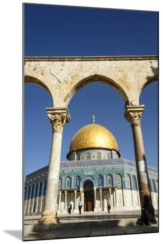 Dome of the Rock Mosque, Temple Mount, UNESCO World Heritage Site, Jerusalem, Israel, Middle East-Yadid Levy-Mounted Photographic Print