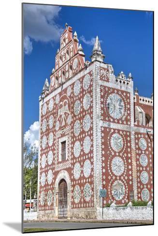 Santo Domingo De Guzman Church and Convent, Built in 1646, Uayma, Yucatan, Mexico, North America-Richard Maschmeyer-Mounted Photographic Print