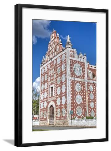Santo Domingo De Guzman Church and Convent, Built in 1646, Uayma, Yucatan, Mexico, North America-Richard Maschmeyer-Framed Art Print