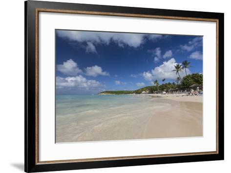 Dickinson Bay Overlooking the Caribbean Sea, Antigua, Leeward Islands, West Indies-Roberto Moiola-Framed Art Print