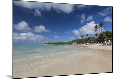 Dickinson Bay Overlooking the Caribbean Sea, Antigua, Leeward Islands, West Indies-Roberto Moiola-Mounted Photographic Print