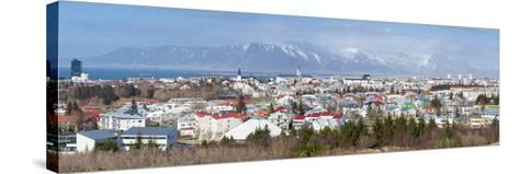 Panoramic View across the City of Reykjavik, Iceland, Polar Regions-Chris Hepburn-Stretched Canvas Print