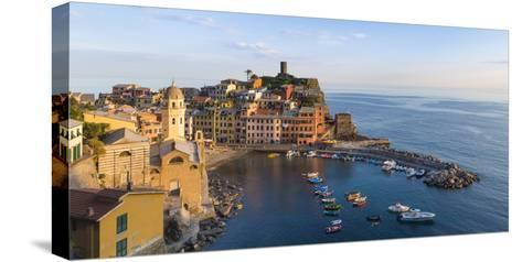 Vernazza, Cinque Terre, UNESCO World Heritage Site, Liguria, Italy, Europe-Gavin Hellier-Stretched Canvas Print