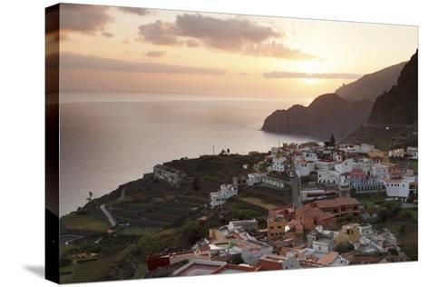 Agulo, La Gomera, Canary Islands, Spain, Atlantic, Europe-Markus Lange-Stretched Canvas Print