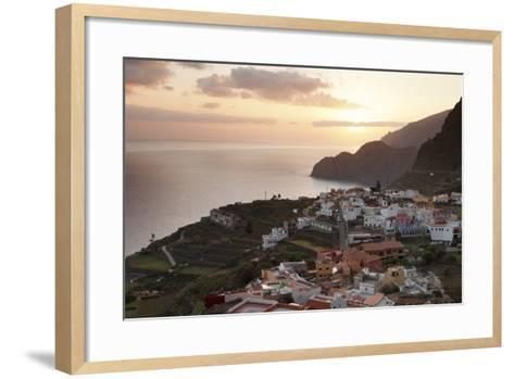 Agulo, La Gomera, Canary Islands, Spain, Atlantic, Europe-Markus Lange-Framed Art Print