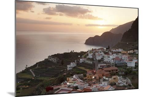 Agulo, La Gomera, Canary Islands, Spain, Atlantic, Europe-Markus Lange-Mounted Photographic Print