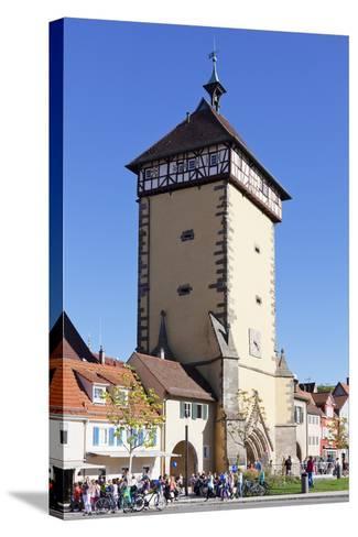 Tuebinger Tor Gate, Reutlingen, Baden Wurttemberg, Germany, Europe-Markus Lange-Stretched Canvas Print