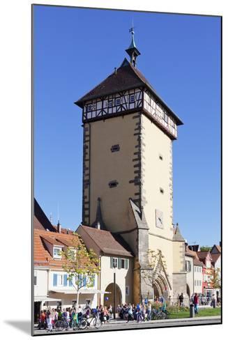 Tuebinger Tor Gate, Reutlingen, Baden Wurttemberg, Germany, Europe-Markus Lange-Mounted Photographic Print