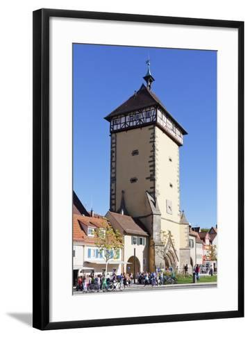Tuebinger Tor Gate, Reutlingen, Baden Wurttemberg, Germany, Europe-Markus Lange-Framed Art Print