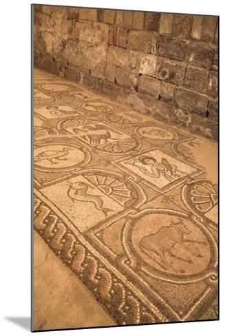 Floor Mosaics, Petra Church (Byzantine Church), Built Between the 5th and 7th Centuries Ad-Richard Maschmeyer-Mounted Photographic Print