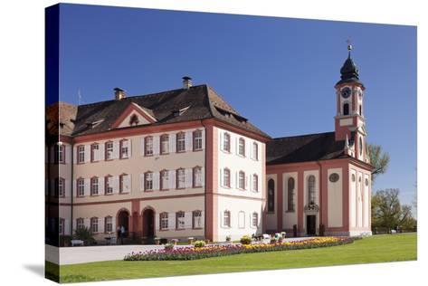 Deutschordensschloss Castle and Church-Markus Lange-Stretched Canvas Print