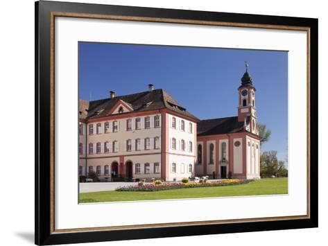 Deutschordensschloss Castle and Church-Markus Lange-Framed Art Print