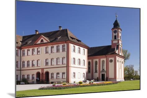 Deutschordensschloss Castle and Church-Markus Lange-Mounted Photographic Print