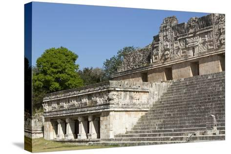 Nuns Quadrangle, Uxmal, Mayan Archaeological Site, Yucatan, Mexico, North America-Richard Maschmeyer-Stretched Canvas Print
