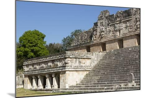 Nuns Quadrangle, Uxmal, Mayan Archaeological Site, Yucatan, Mexico, North America-Richard Maschmeyer-Mounted Photographic Print