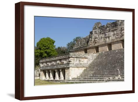 Nuns Quadrangle, Uxmal, Mayan Archaeological Site, Yucatan, Mexico, North America-Richard Maschmeyer-Framed Art Print