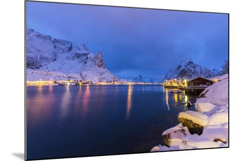 Blue Hour in the Small Bay of Reine-Roberto Moiola-Mounted Photographic Print