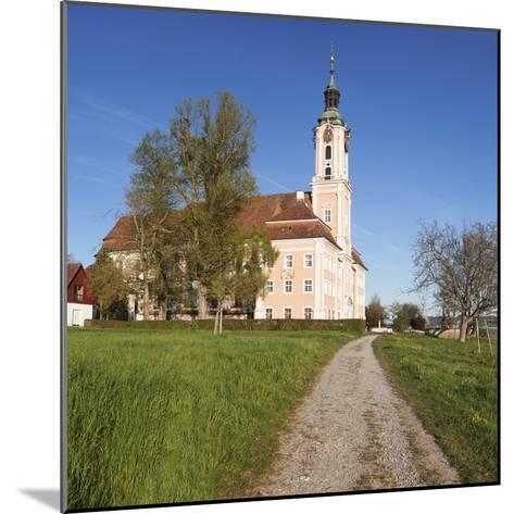 Pilgrimage Church of Birnau Abbey in Spring, Lake Constance, Baden-Wurttemberg, Germany-Markus Lange-Mounted Photographic Print
