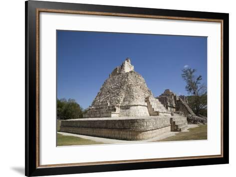 Dzibilnocac (Painted Vault) Temple-Richard Maschmeyer-Framed Art Print